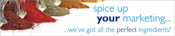 Spice up your marketing.