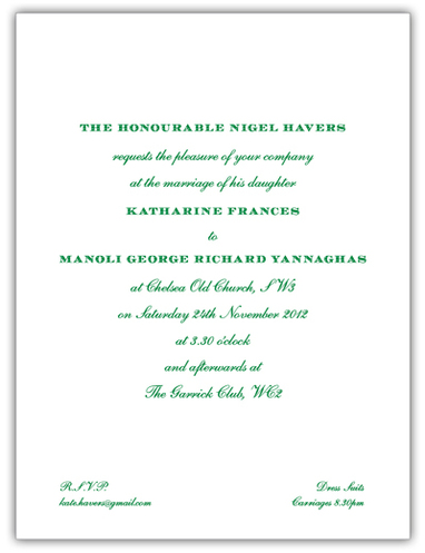 Traditional or trendy - your wedding invitations are