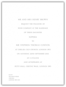 Traditional or trendy your wedding invitations are designed