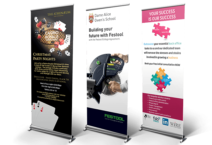 Roller Banners Mockup