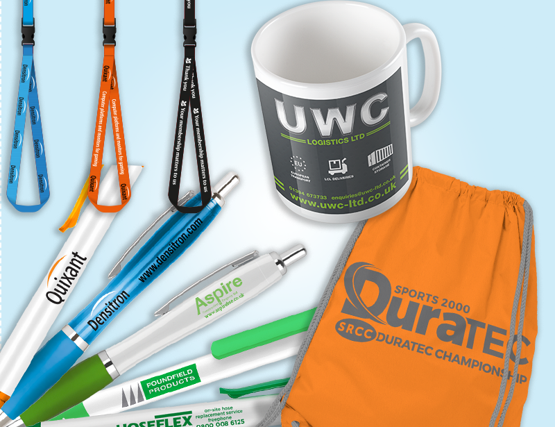 Promotional products from Kall Kwik