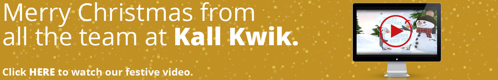 Happy Christmas from all at Kall Kwik UK Business Design and Printing
