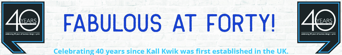 Kall Kwik celebrates 40th anniversary