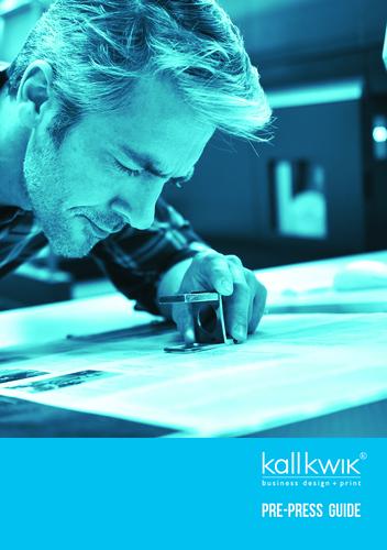 Kall Kwik WGC - Pre-Press Guide