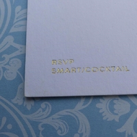 Wedding Invitation printed by Kall Kwik Chiswick