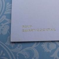 Wedding Invitation printed by Kall Kwik Chiswick