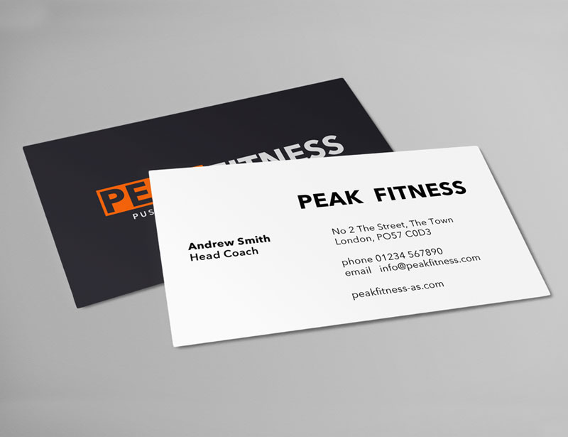 Multi layered business cards